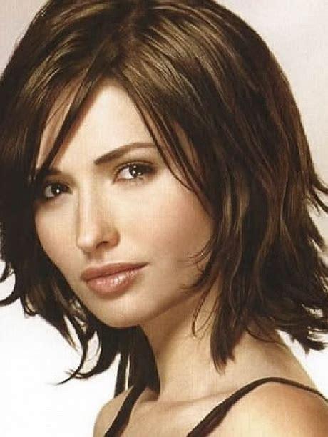 shoulder lenght with bangs hair style for senior asians medium length haircuts with bangs 2015