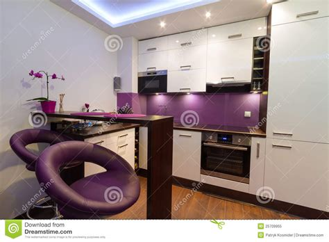 Modular Floor Plans And Prices modern white and purple kitchen royalty free stock photo