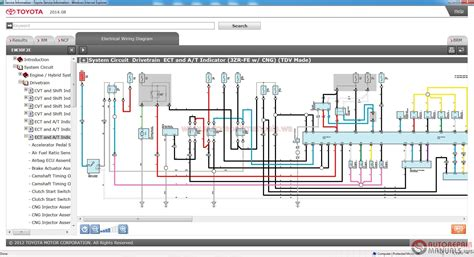 toyota electrical wiring diagram electrical and