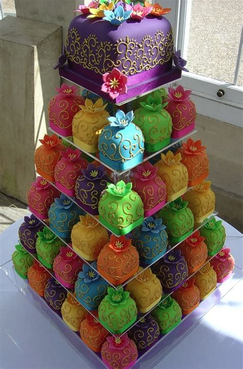Colorful Wedding Cakes by Colorful Baby Cakes Wedding Cake Tower A Wedding Cake