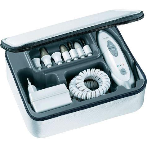 manicure pedicure set sanitas sma 35 from conrad
