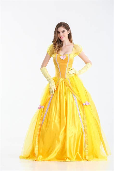 01 Princess Dress 2017 new and the beast princess dress