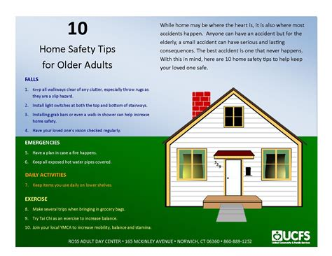 10 home safety tips for adults sheltering arms