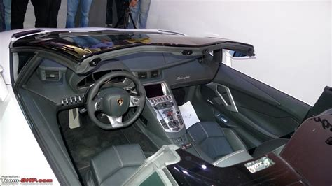 How Many Seats Does A Lamborghini Aventador Lamborghini Aventador Roadster Launched 4 7 Cr Team Bhp