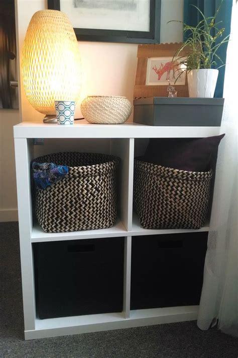 Kallax   In the corner, Patterns and Kallax shelf