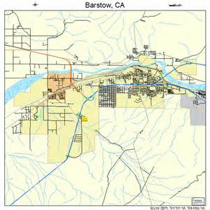 barstow california map 0604030