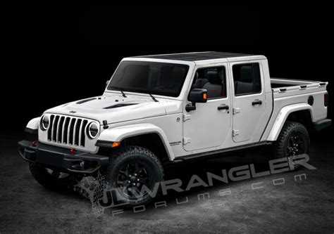 new jeep truck is this what the new 2019 jeep wrangler pickup truck will