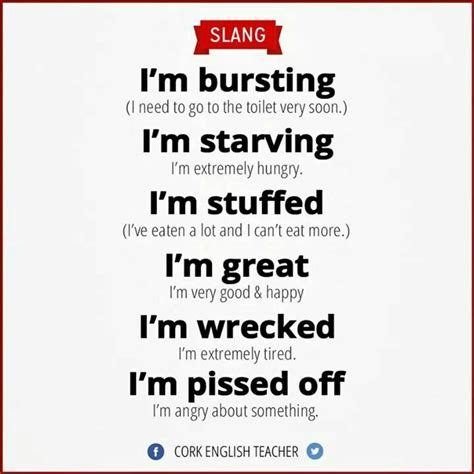 slang words and phrases slanguage a useful guide to british slang efl and culture