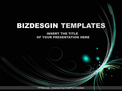 flash powerpoint templates flash wave abstract powerpoint templates