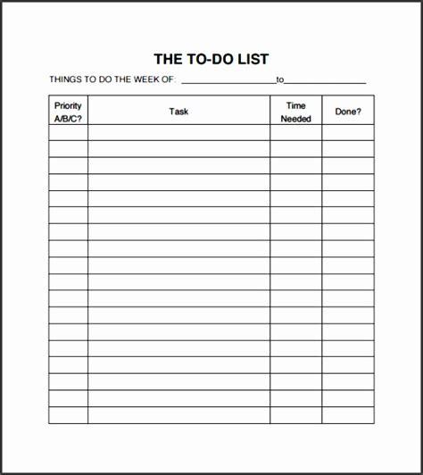 business to do list template 10 business to do list template sletemplatess