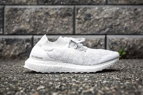 Adiddas Ultrabost Uncaged the all white adidas ultra boost uncaged releases tomorrow will you cop kicksonfire
