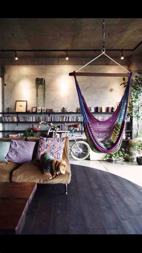 indoor hammock chair nerd haven pinterest nooks 591 best images about boho style home decoration on