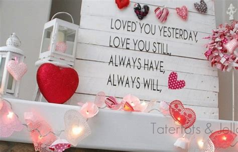65 valentine s day mantel d 233 cor ideas digsdigs