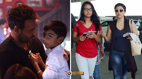 Actor Ajay Devgan Family Photos with Wife Kajol, Daughter ...