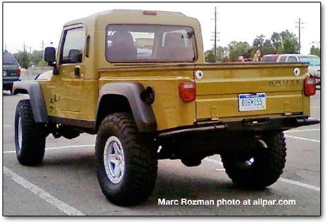 2018 jeep wrangler pickup brute jeep scrambler truck future cars release date