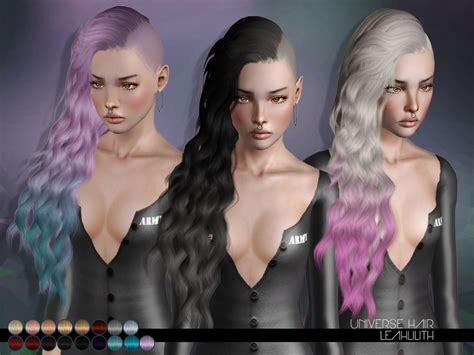 sims 3 resource hair leah lillith s leahlillith universe hair