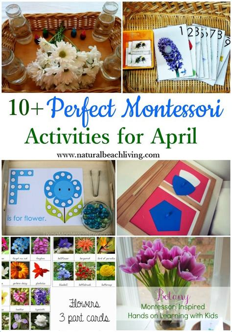 educational themes for april 10 perfect montessori april preschool activities april