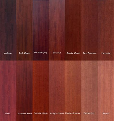 mahogany vs oak color comparison search house stains oak