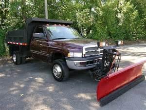 Used Dodge Trucks Buy Used 2002 Dodge 3500 Dump Truck 4x4 Plow Low