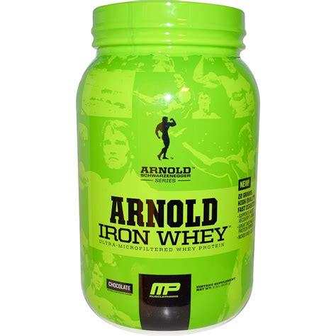 Arnold Iron Whey Arnold Iron Whey Protein Chocolate 2 Lbs 908 G