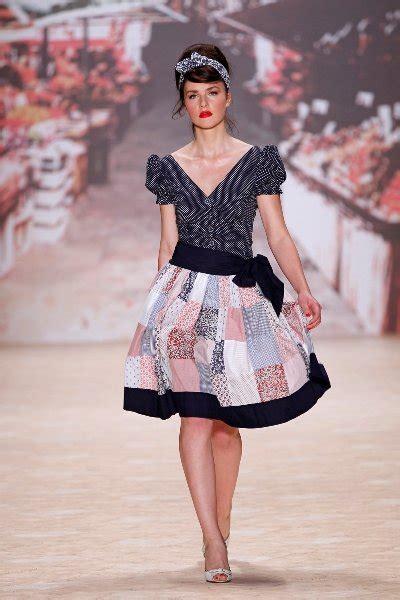 die 50er mode lena hoschek mode der 50er jahre zur fashion week berlin
