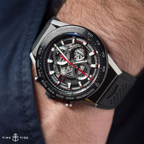 When Was The First House Built by Tag Heuer Carrera Heuer 01 Hands On Review