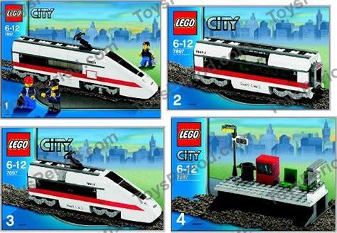 Lego City Eisenbahn Zubehör 600 by Lego 7897 Passenger Set Parts Inventory And