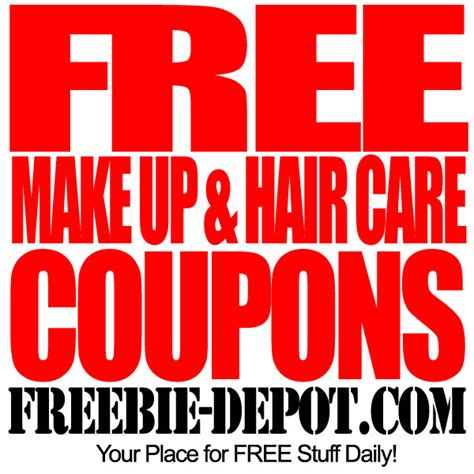 free online coupons online coupon codes and cash back free make up hair care coupons freebie depot