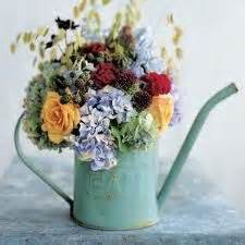 water can centerpieces watering can centerpieces