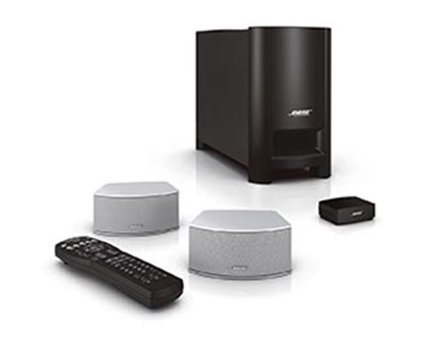 new bose cinemate gs series ii home theater system silver