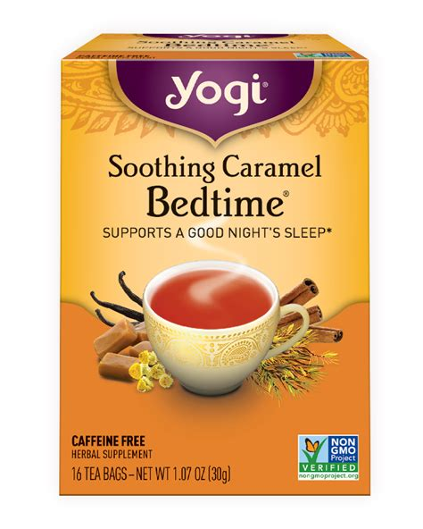Poppy Seed Tea Detox by Soothing Caramel Bedtime 174 Yogi Tea