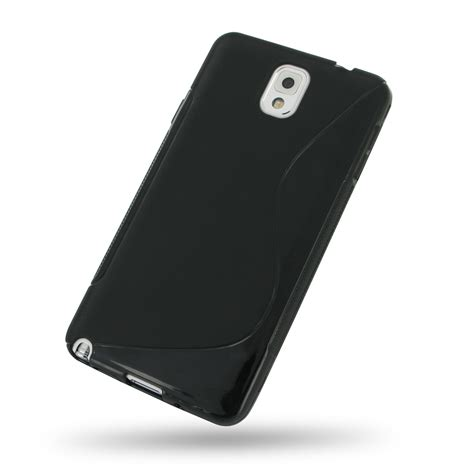 Softcase Samsung Note 3 samsung galaxy note 3 soft black s shape pattern pdair
