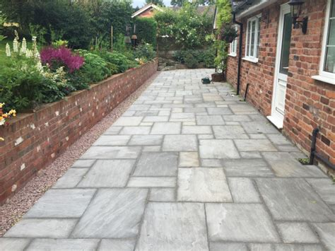 New Patio by Testimonials Paul Gibbons Landscapes Ltd