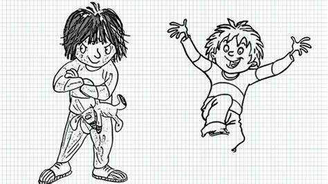 free horrid henry cartoon coloring pages