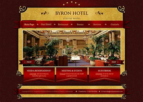 17 best images about free hotel html templates on royal hotel html website template best website templates