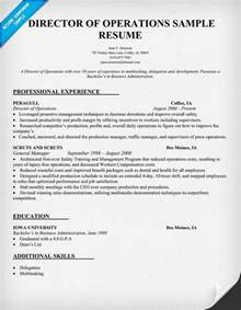 Director Of Operations Cover Letter by Director Of Operations Resume Getessay Biz