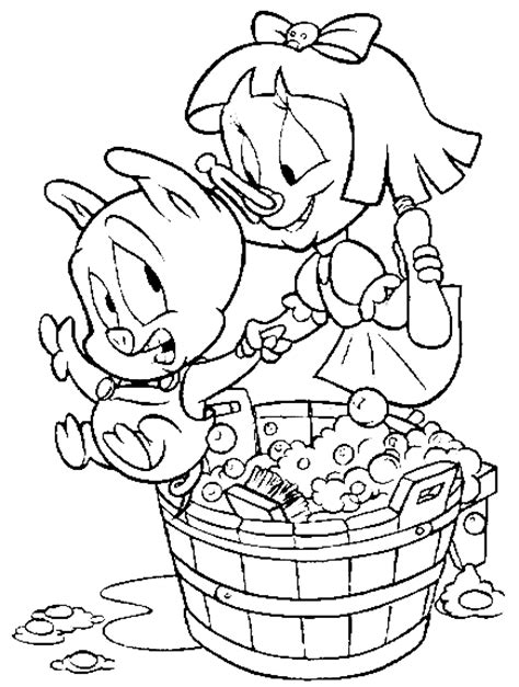 buster bunny coloring pages dessins de tiny toons 224 colorier