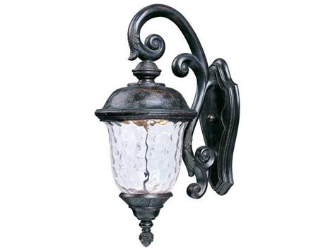 Maxim Lighting Carriage House Oriental Bronze Water Carriage Outdoor Lights