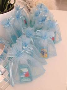 baby shower favors for boy baby boy shower favor in its own baby blue bag