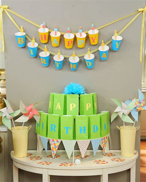 cheap diy party decorations for birthday party hanging