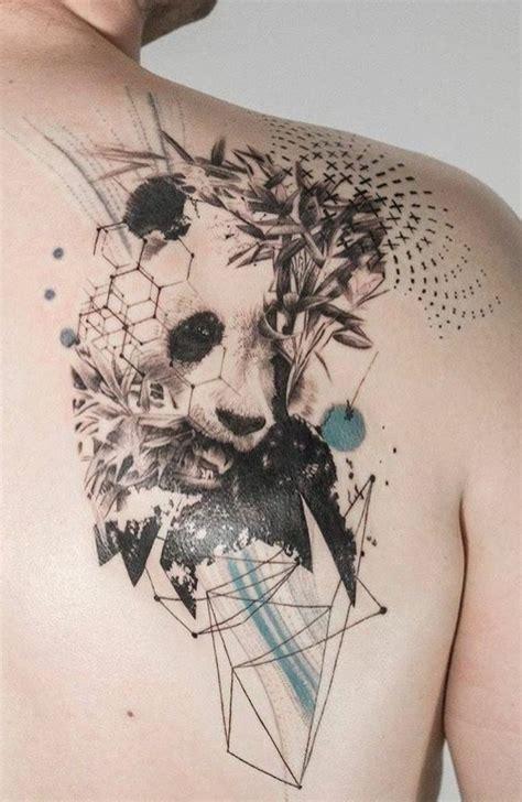 tattoo panda geometrico the 25 best panda tattoos ideas on pinterest animal