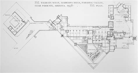 taliesin west floor plan taliesin west floor plan frank lloyd wright a piece of