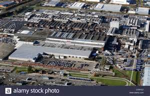 aerial view of jaguar car s halewood plant at speke