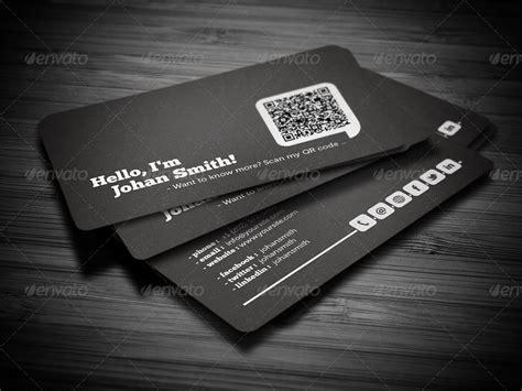 social qr code business card  flowpixels graphicriver