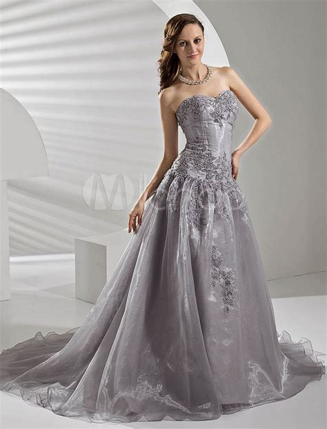 Silver Wedding Dresses by 17 Best Images About Silver Wedding Dress On