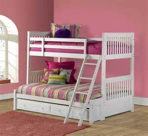 bunk bed white bunk bed white finish 1528bbf