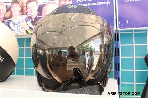 aripitstop 187 tengok helm yamaha fino yang classic ada tiga pilihan tipe