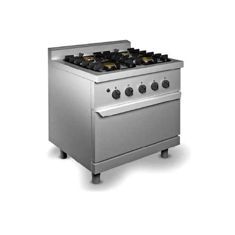 cucine con forno a gas prezzi cucina professionale 4 fuochi con forno a gas