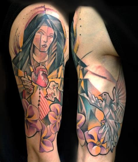 best religious sleeve tattoos amazing 45 awesome sleeve ideas amazing ideas