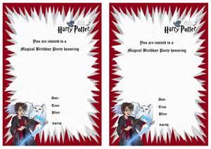 2 innovative harry potter birthday invitations printable eysachsephoto